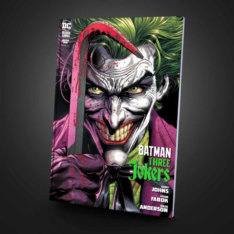 کمیک سافت کاور Batman: the Three Jokers