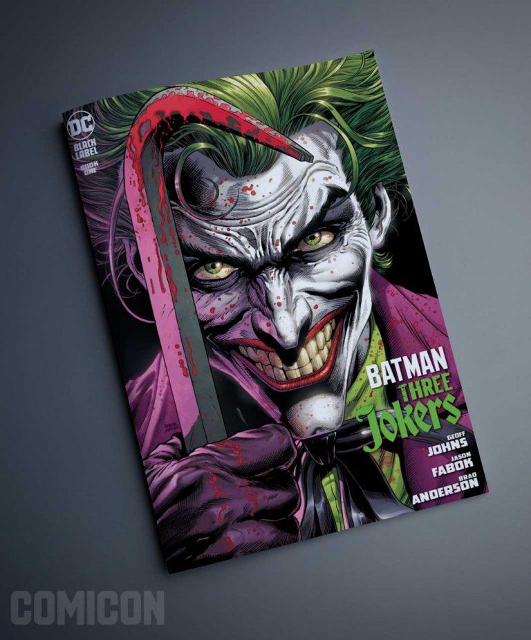 کمیک Batman: the Three Jokers