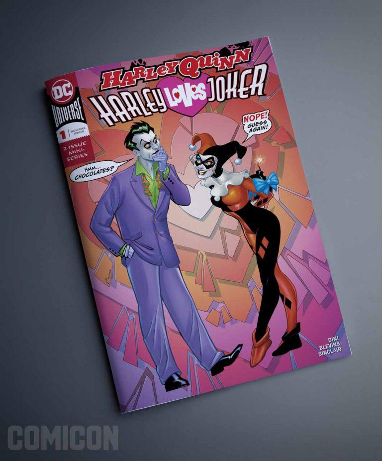 کمیک Harley Loves Joker