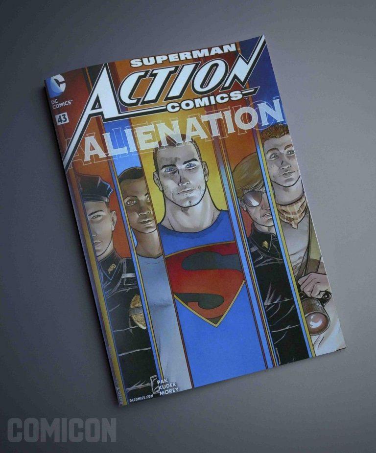 کمیک Superman Alienation