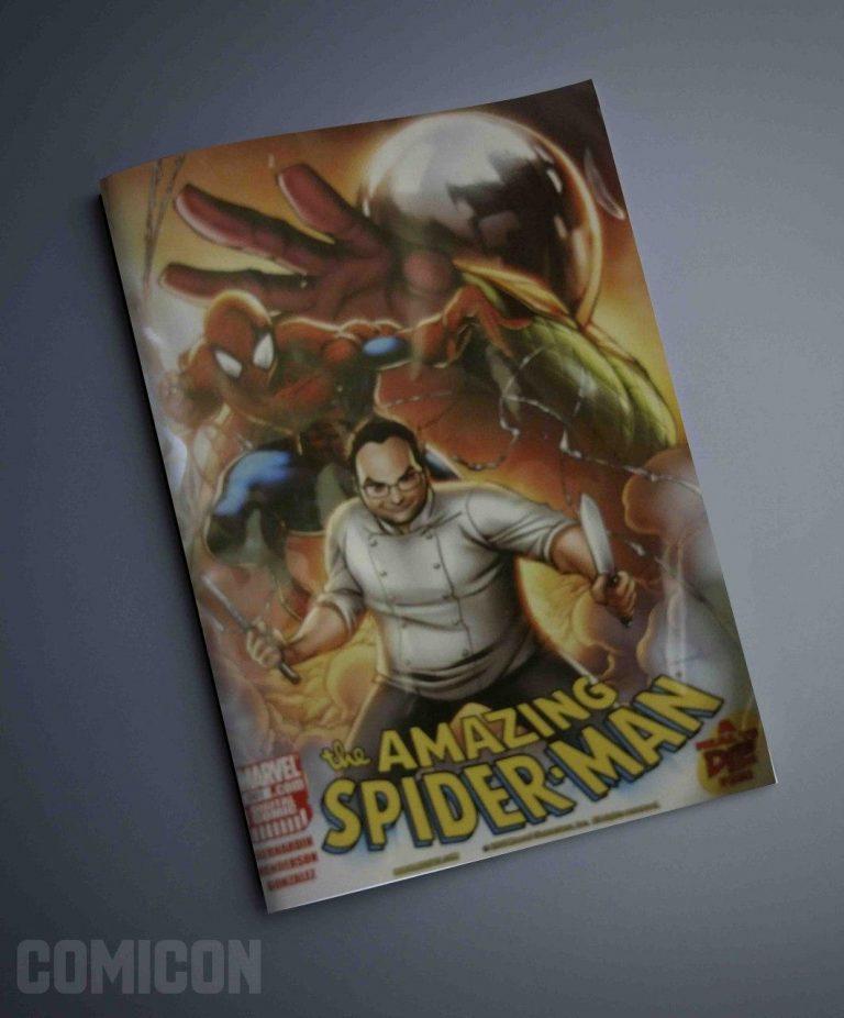 کمیک The Amazing Spider Man a Meal to Die For