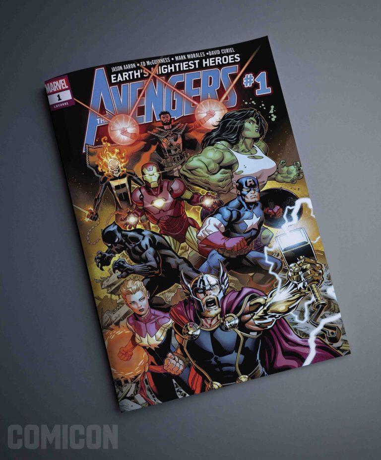 کتابچه کمیک avengers