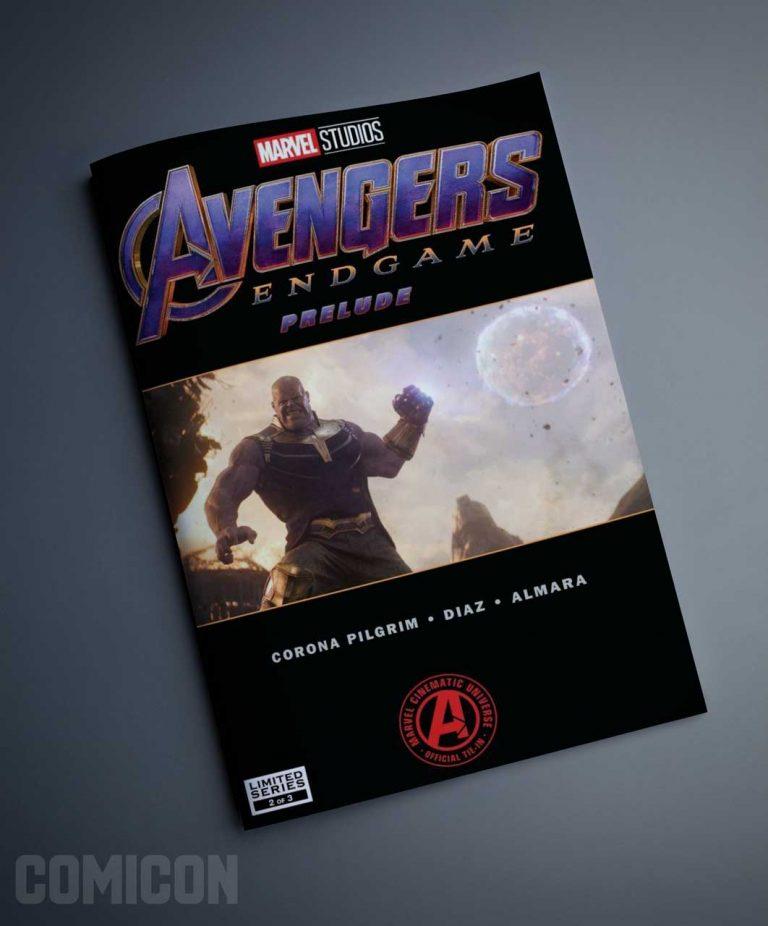 کمیک Avengers End Game Prelude (جلد دوم)