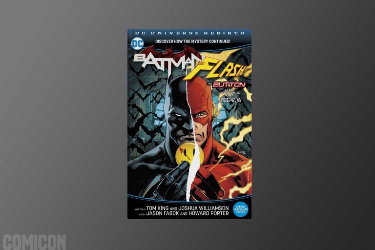 کالکشن Batman/The Flash The Button