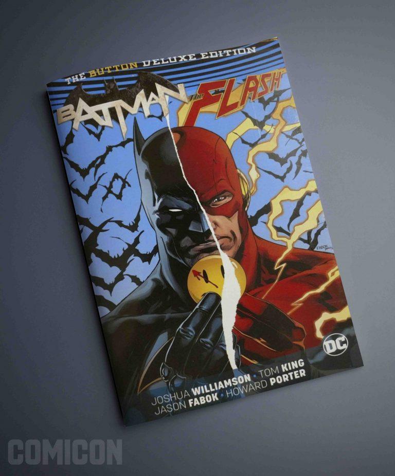 کتابچه کمیک Batman Flash