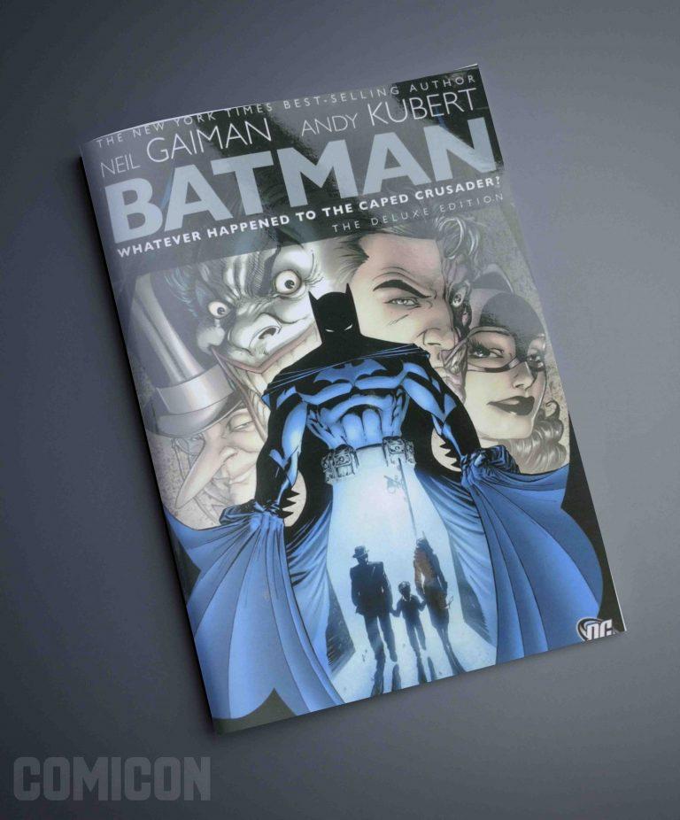 کتابچه کمیک Batman WHTCC