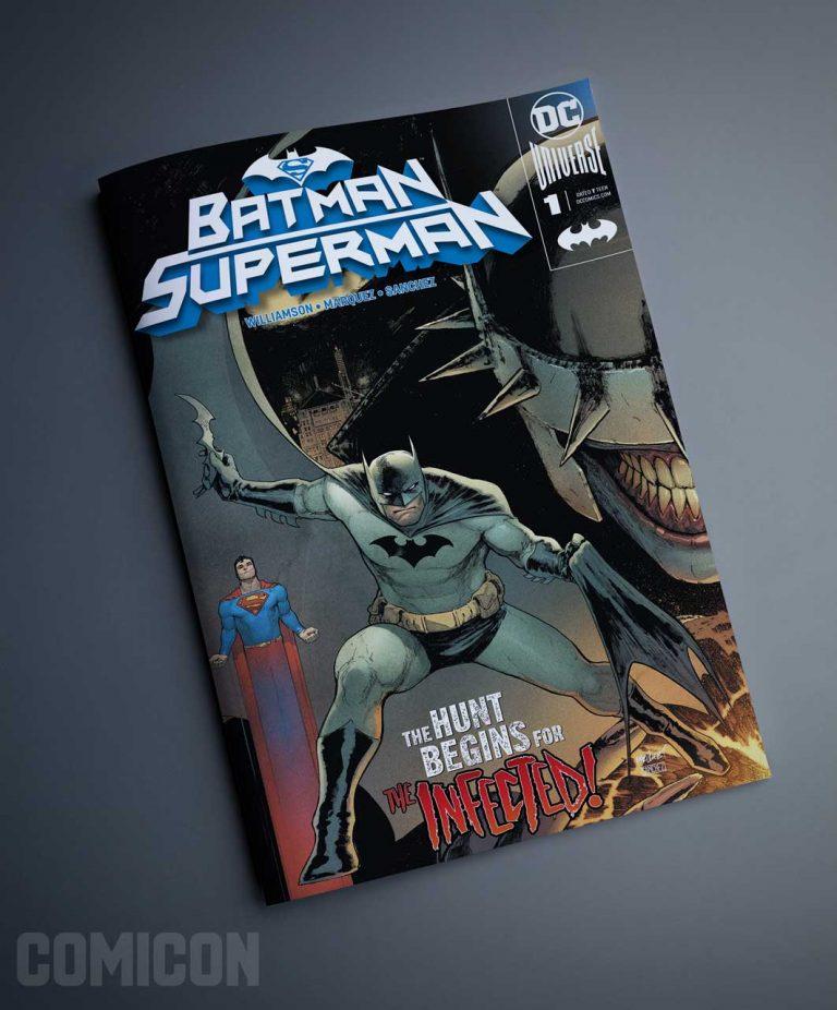 کمیک بتمن سوپرمن