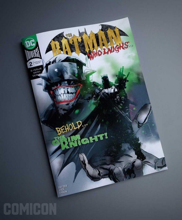 کمیک Batman Who Laughs (جلد دوم)