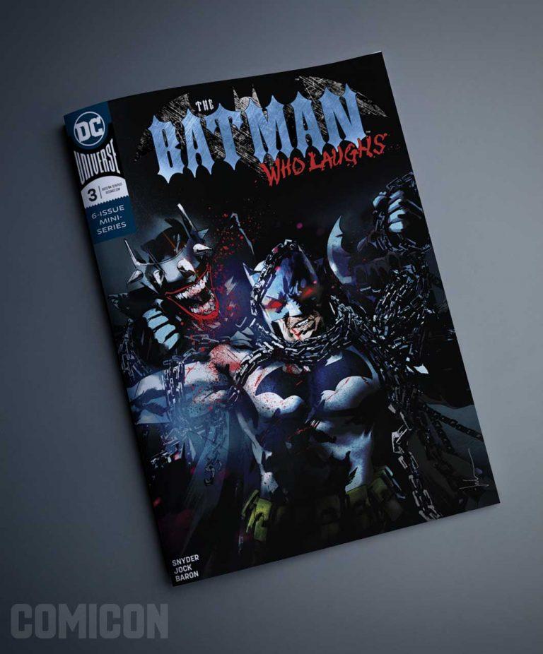 کمیک Batman Who Laughs (جلد سوم)