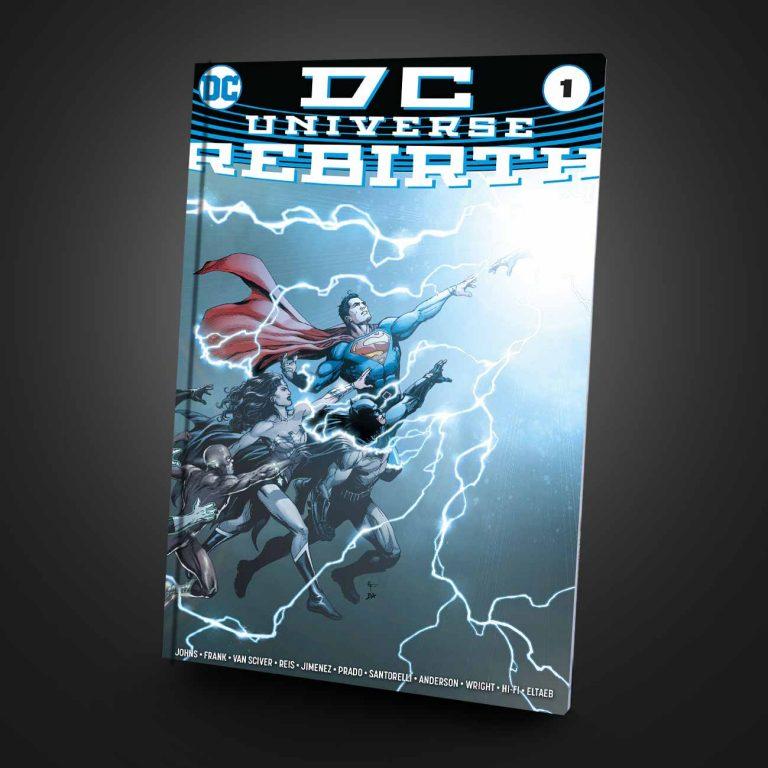 کمیک سافت کاور Dc Universe : Rebirth