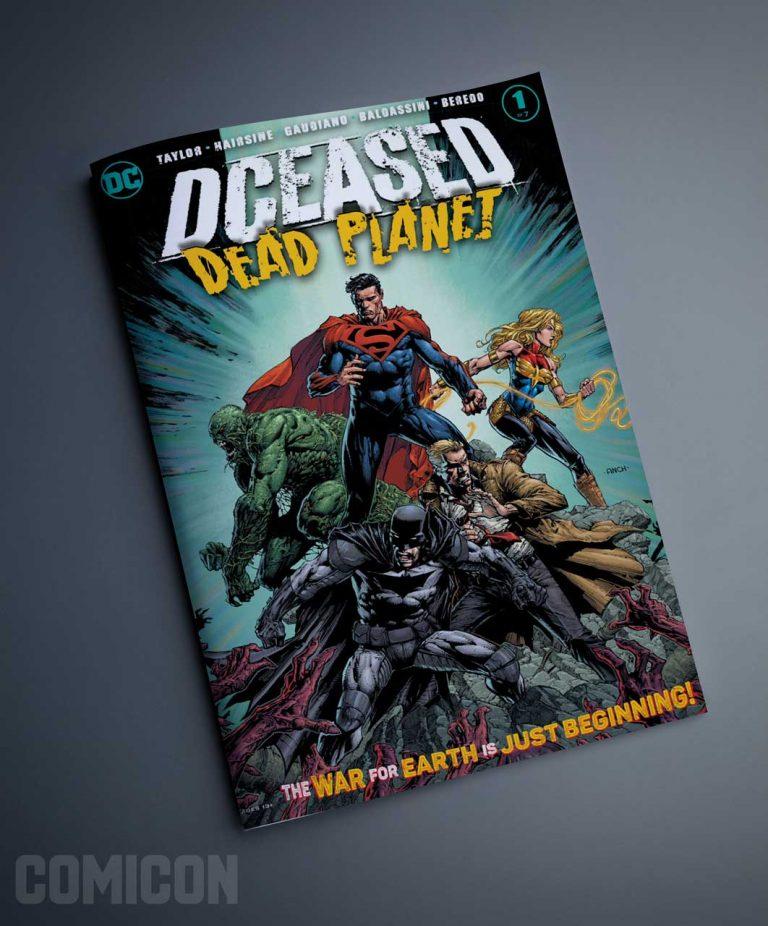 کمیک DCEASED DEAD PLANET