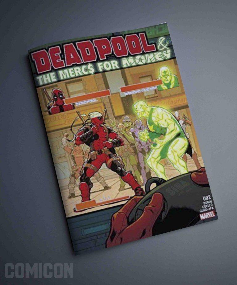 کتابچه کمیک Deadpool