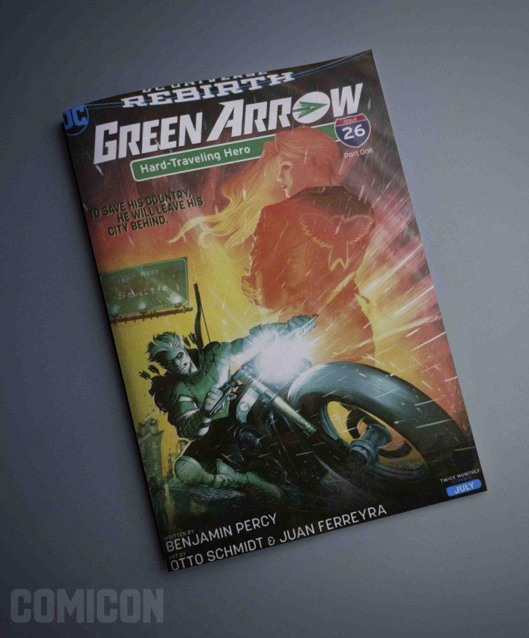 کمیک Green Arrow