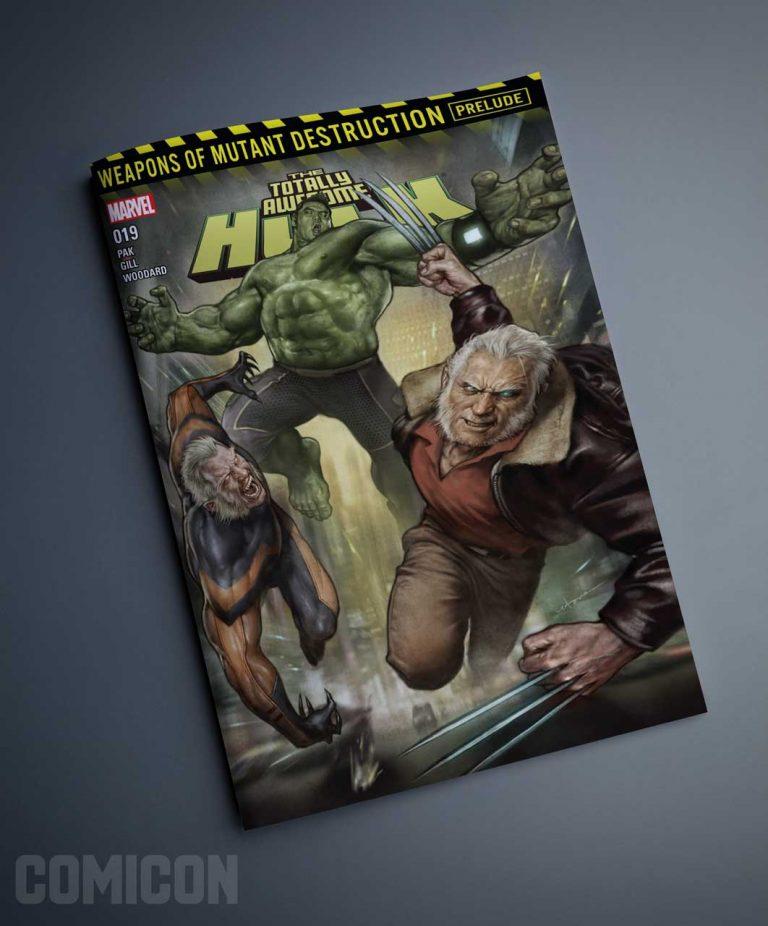کمیک The Totally Awesome Hulk