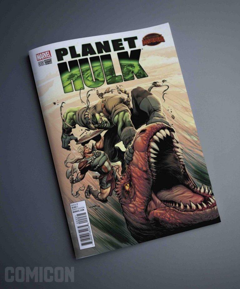 کمیک Planet Hulk