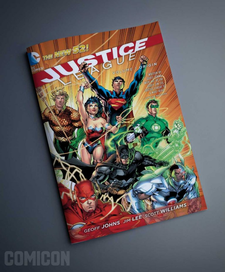 کمیک  JUSTICE LEAGUE ORIGIN