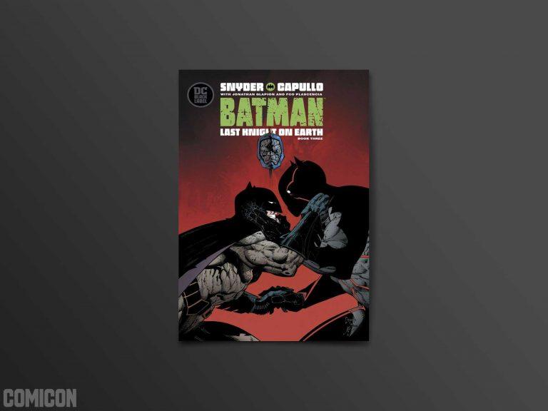 کمیک Batman: Last Knight on Earth