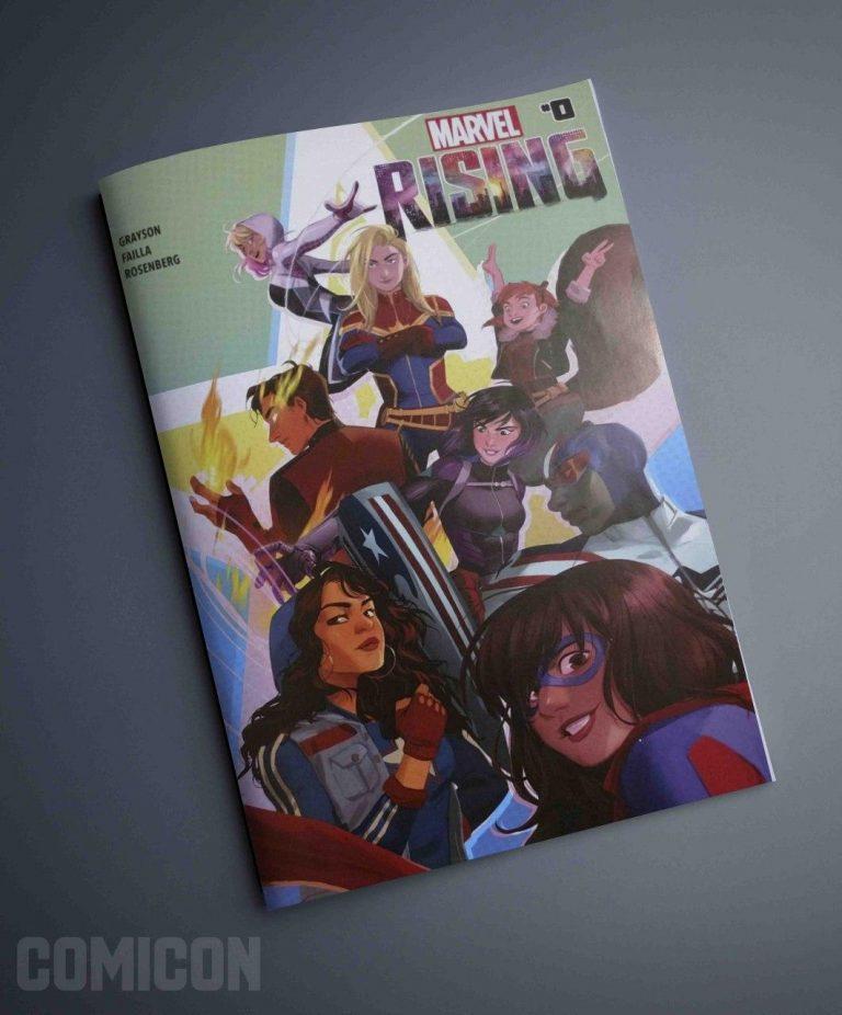 کمیک Marvel Rising