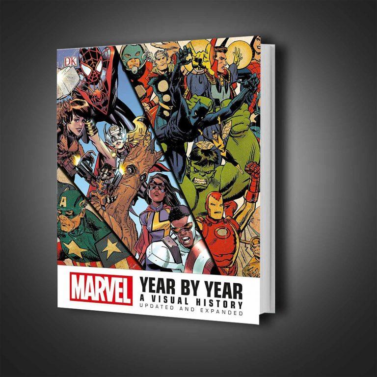 گاید بوک Marvel Year by Year A Visual History