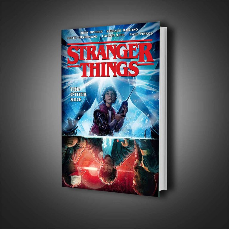 کمیک هارد کاور STRANGER THINGS THE OTHER SIDE
