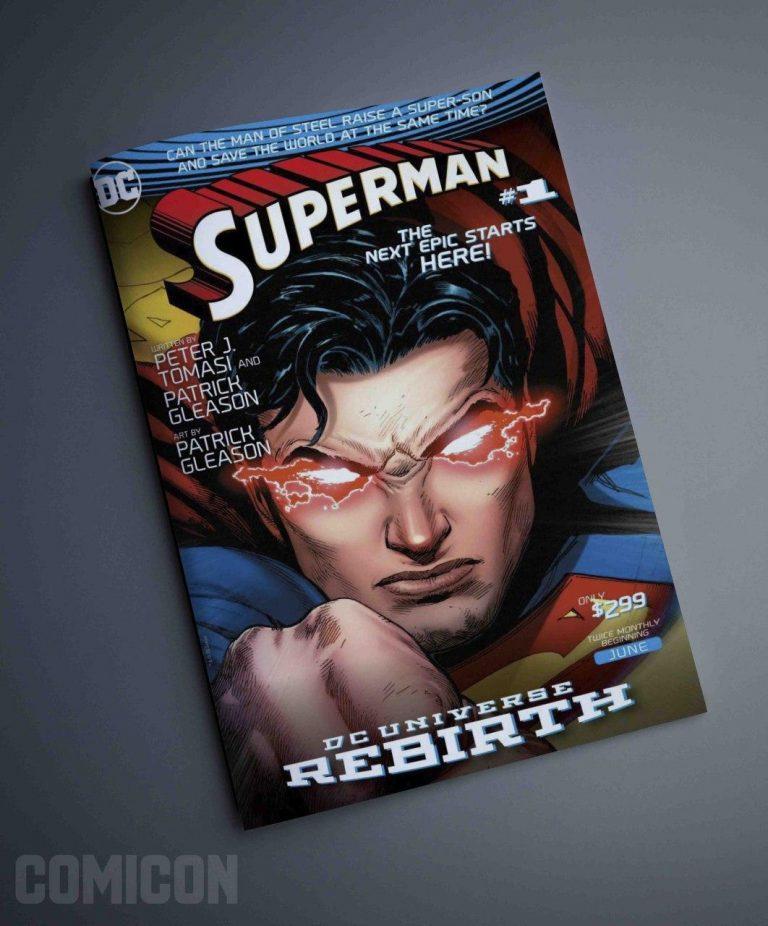 کمیک SuperMan DC universe rebirth