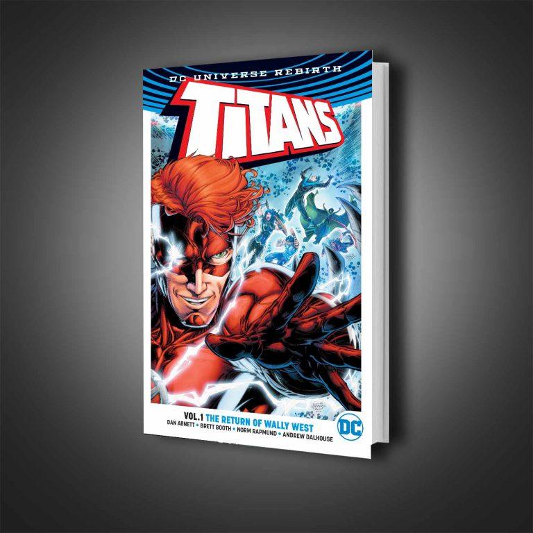 کمیک هارد کاور Titans The Return of Wally West