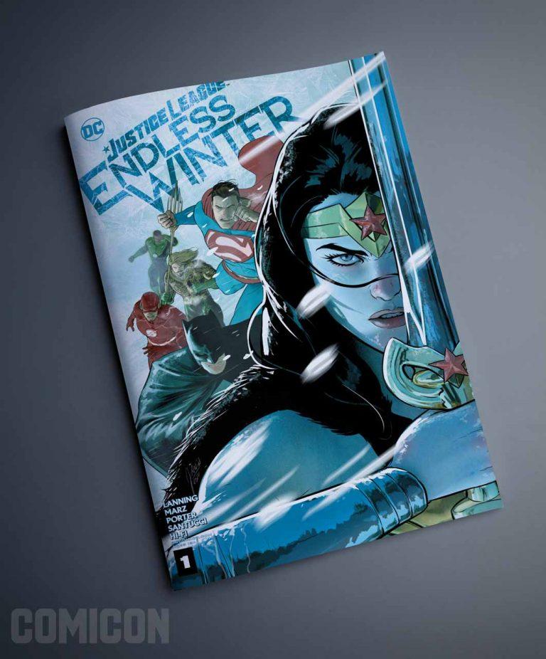کمیک Justice League: Endless Winter Special