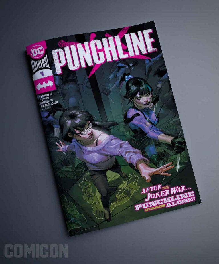 کمیک PUNCHLINE 2020