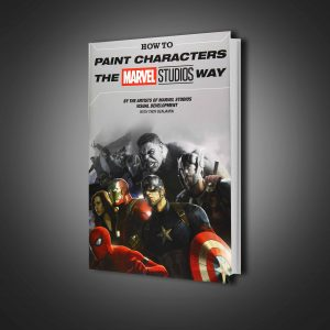 گاید بوک How to Paint Characters the Marvel Studios Way