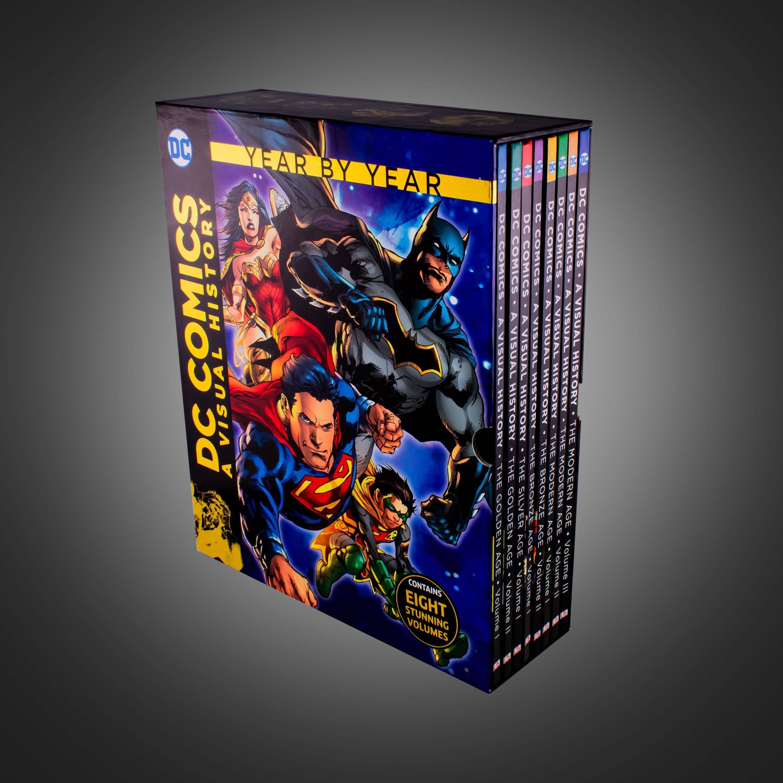 گاید بوک Dc Comics A Visual History Collection