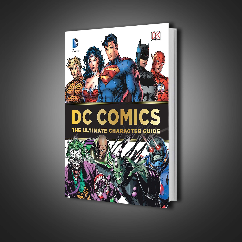 گاید بوک DC Comics Ultimate Character Guide