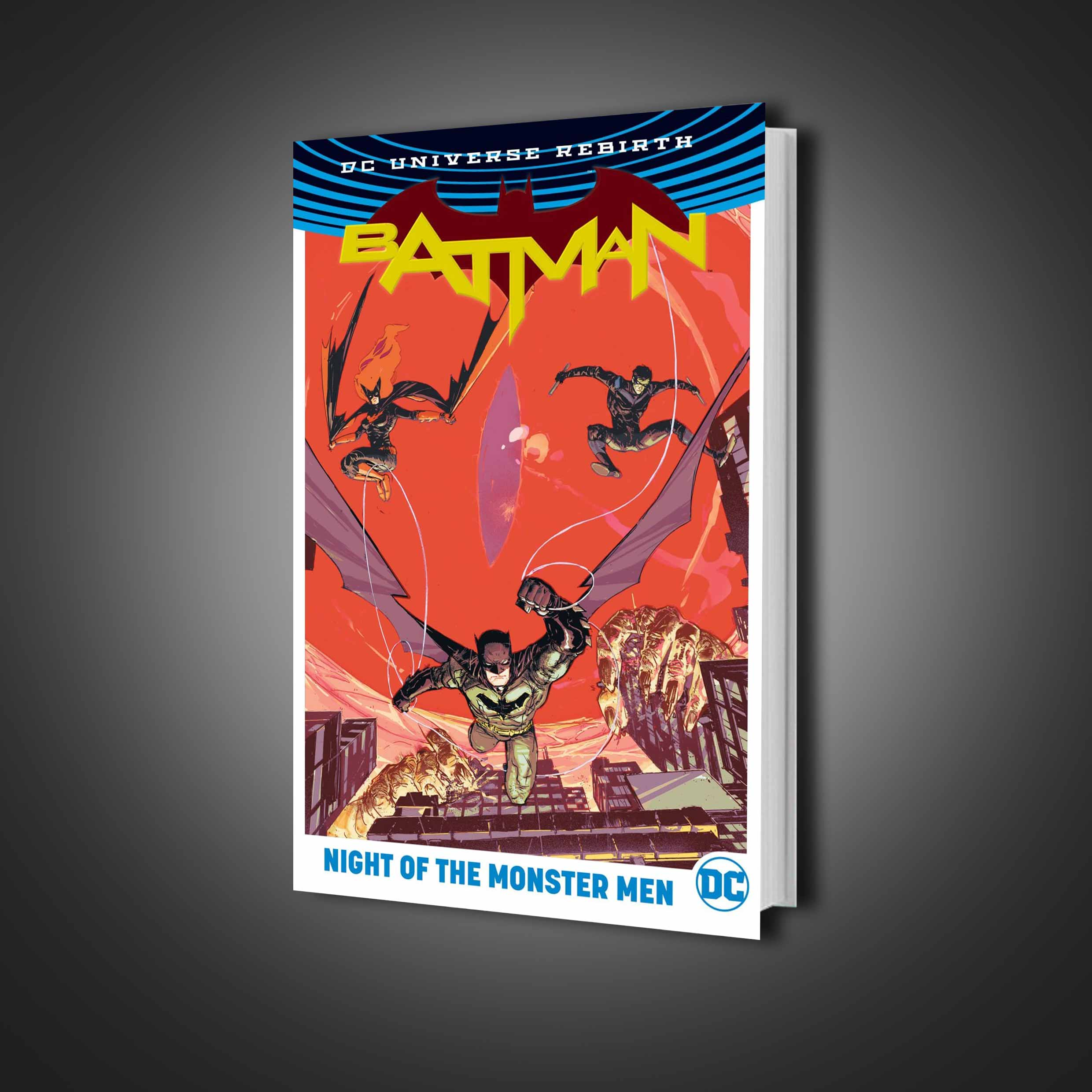 کمیک Batman: Night of the Monster Men