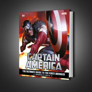 گاید بوک Marvel's Captain America: The Ultimate Guide to the First Avenger