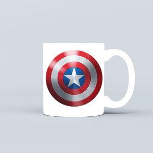 ماگ طرح سپر کاپیتان آمریکا